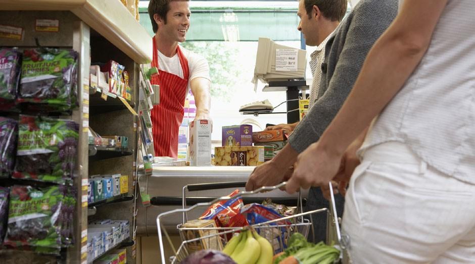 Caixa de supermercado: ciência desvenda como deixar a fila mais rápida (Foto: ThinkStock)