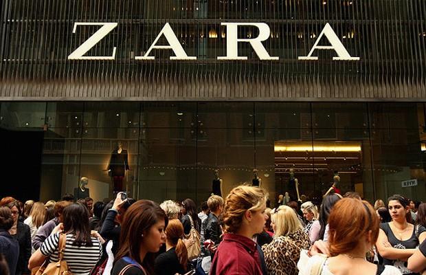 Loja da Zara que pertence ao grupo Inditex (Foto: Getty Images)