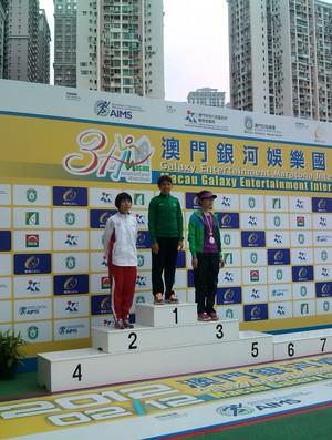 Conceição na Maratona de Macau (Foto: Divulgação)