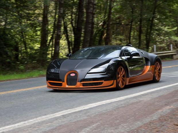 bugatti veyron no filme need for speed (Foto: Divulgação)
