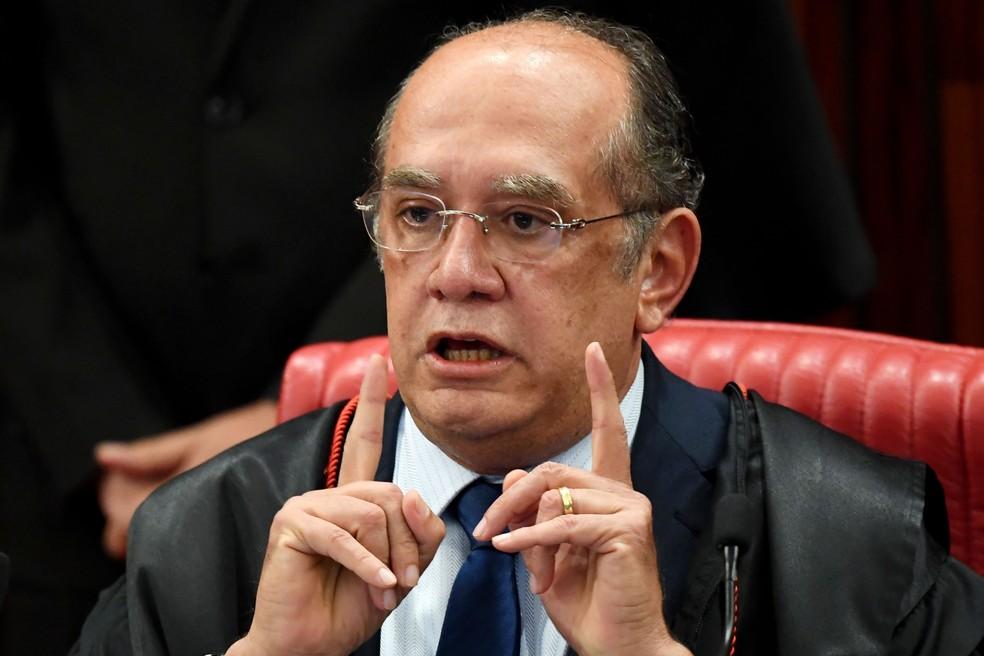 O presidente do TSE e ministro do STF, Gilmar Mendes (Foto: Evaristo Sa /AFP)