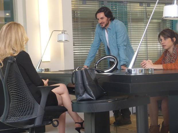 Herval interrompe conversa e acusa Jonas de sabotagem (Foto: Geração Brasil/TV Globo)