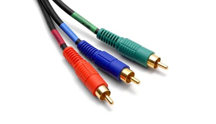 Confira todos os tipos de cabo RGB (Foto: Reprodução/Wikimedia Commons)