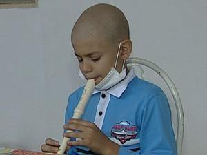 Roberth Leucemia Uberaba (Foto: Reprodução / TV Integração)
