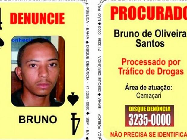 Integrante do Baralho do Crime foi morto em confronto com a polícia (Foto: Divulgação / SSP)