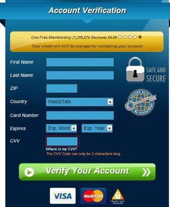 Golpitsas pedem dados bancários para fazer o download do vídeo (Foto: Reprodução/Hot for Security) (Foto: Golpitsas pedem dados bancários para fazer o download do vídeo (Foto: Reprodução/Hot for Security))