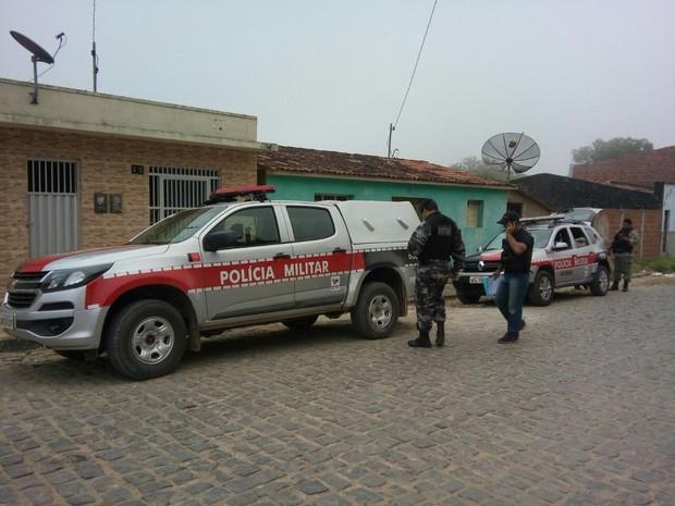 Operação Macaíba aconteceu nas cidades de Solânea e Serraria nesta terça-feira (22) (Foto: Sílvia Torres/TV Cabo Branco)