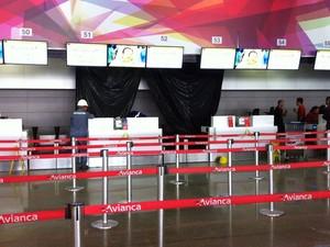 Área de embarque doméstico do Aeroporto JK (Foto: Isabella Formiga/G1)