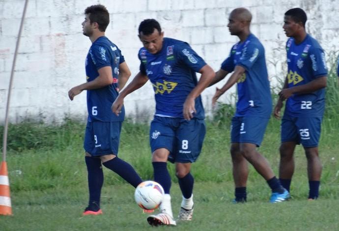 treino Tupi-MG Esporte Clube Benfica (Foto: Bruno Ribeiro)