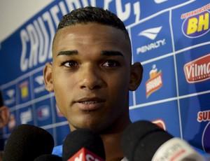 Cruzeiro; Bruno Viana (Foto: Washington Alves/ Light Press)