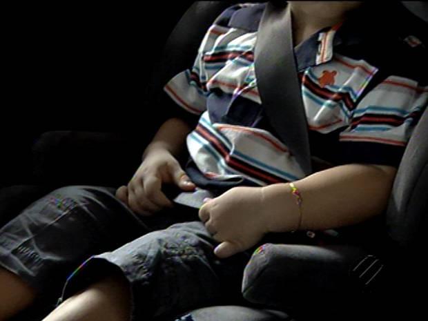 Após, Lei da Cadeirinha, número de mortes de crianças em acidentes diminuiu no Pará (Foto: Reprodução / TV Liberal)