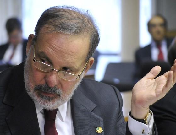 O senador Armando Monteiro (PTB-PE) (Foto: Geraldo Magela/Agência Senado)
