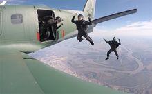 Meninas do Base Jump