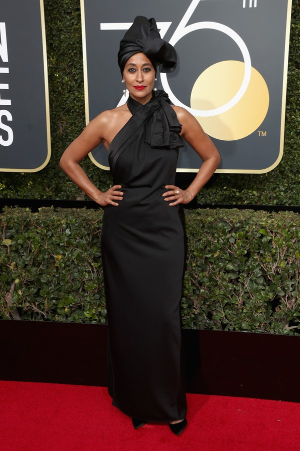BEVERLY HILLS, CA - JANUARY 07:  Tracee Ellis Ross attends The 75th Annual Golden Globe Awards at The Beverly Hilton Hotel on January 7, 2018 in Beverly Hills, California.  (Photo by Frederick M. Brown/Getty Images) (Foto: Getty Images)
