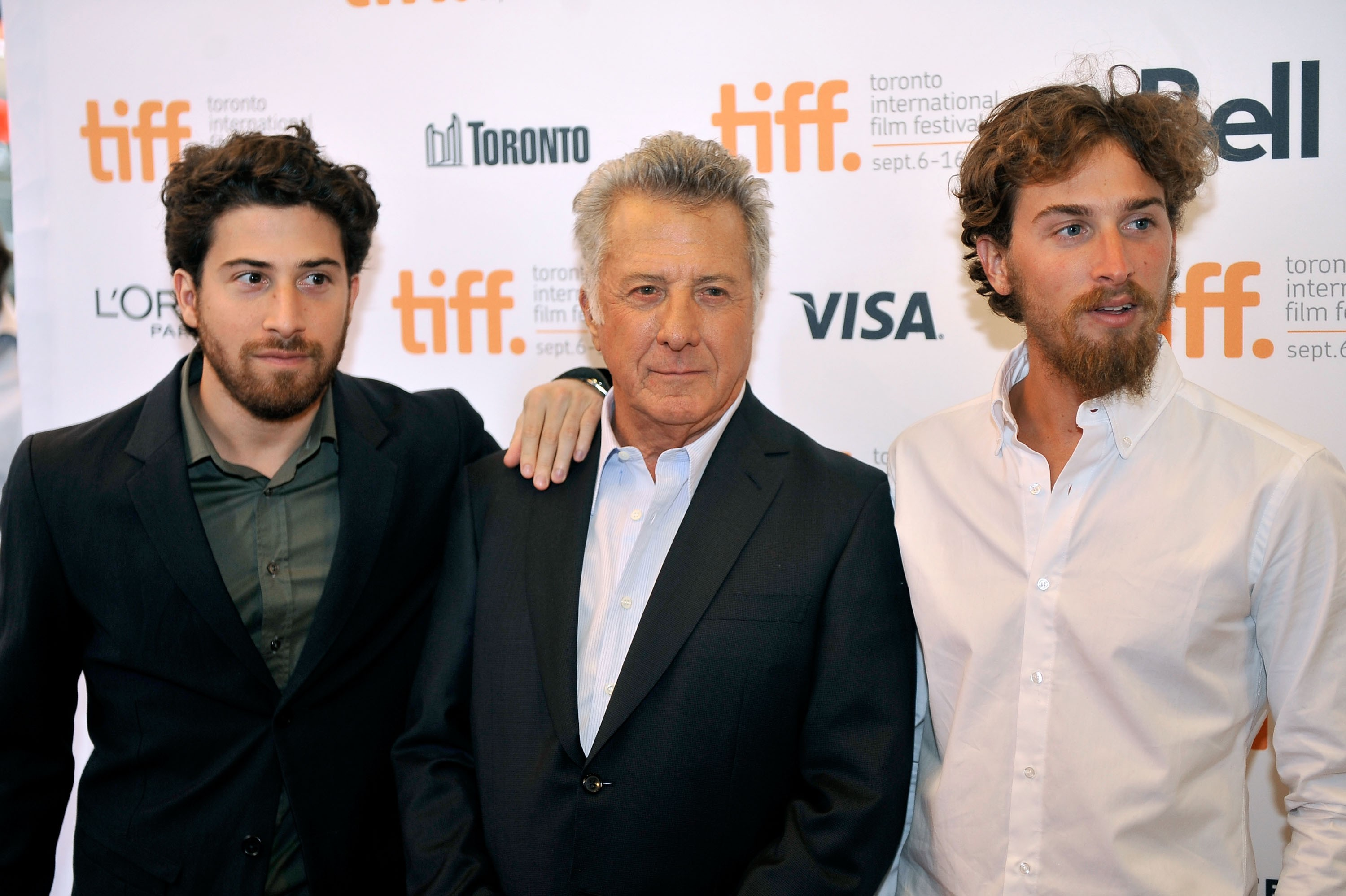 Jake, Dustin e Max Hoffman (Foto: Getty Images)