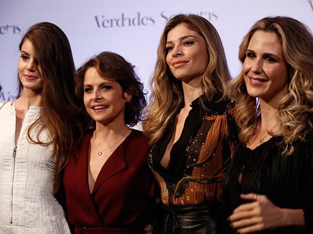 Camila Queiroz, Drica Moraes, Grazi e Guilhemina chamaram a atenção  (Foto: Inácio Moraes / Gshow)