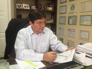 Pedro Leite, promotor de Justiça e da Cidadania de Macapá (Foto: John Pacheco/G1)