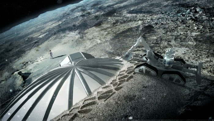 Base Lunar (Foto: ESA)