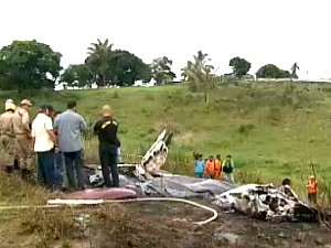 Acidente ocorreu no dia 13 de maio de 2010 (Foto: Reprodução/TV AM)