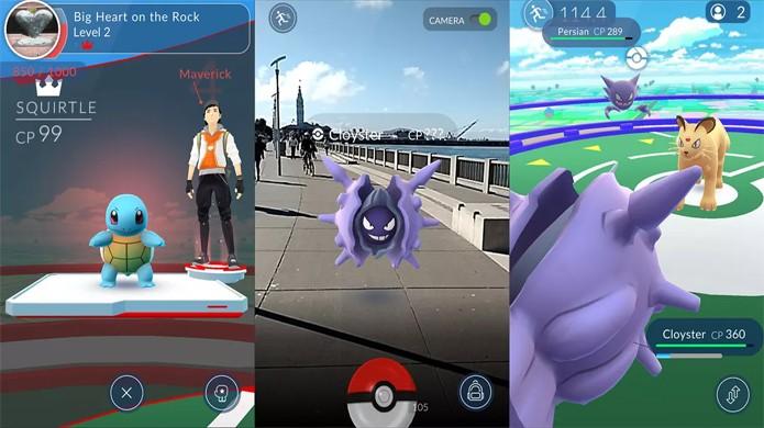 Pokémon Go permite que você capture monstrinhos na vida real com seu smartphone ou tablet (Foto: Reprodução/Polygon)