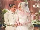Vestido de casamento de Thyane Dantas custa cerca de R$ 72 mil