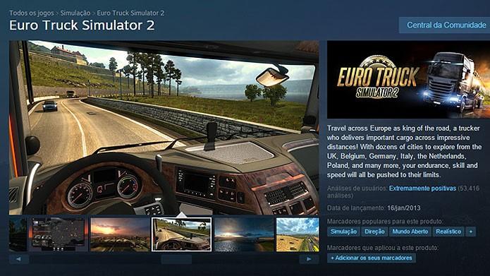 Veja como baixar Euro Truck Simulator 2 e instalar no PC (Foto: Reprodução/Tais Carvalho)