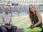Em entrevista no Maracanã, Zagallo diz: 'A Seleção está no caminho certo'