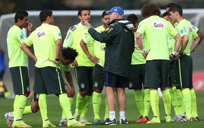 Felipão Scolari Brasil Seleção treino (Foto: Mowa Press)
