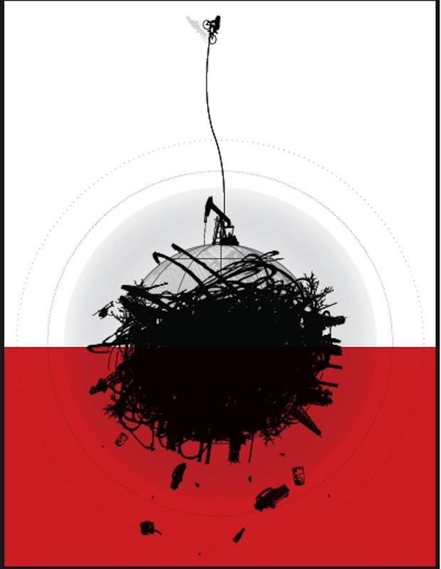 Cartaz feito pela artista Rebeca Mendez para o documentário (Foto: Reprodução)