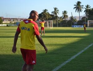 Flávio Boaventura, zagueiro do América-RN (Foto: Jocaff Souza/GloboEsporte.com)