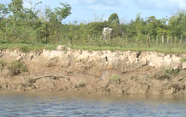 Fim da Pororoca causou impactos negativos sociais e ambientais na região (Foto: Amapá TV)