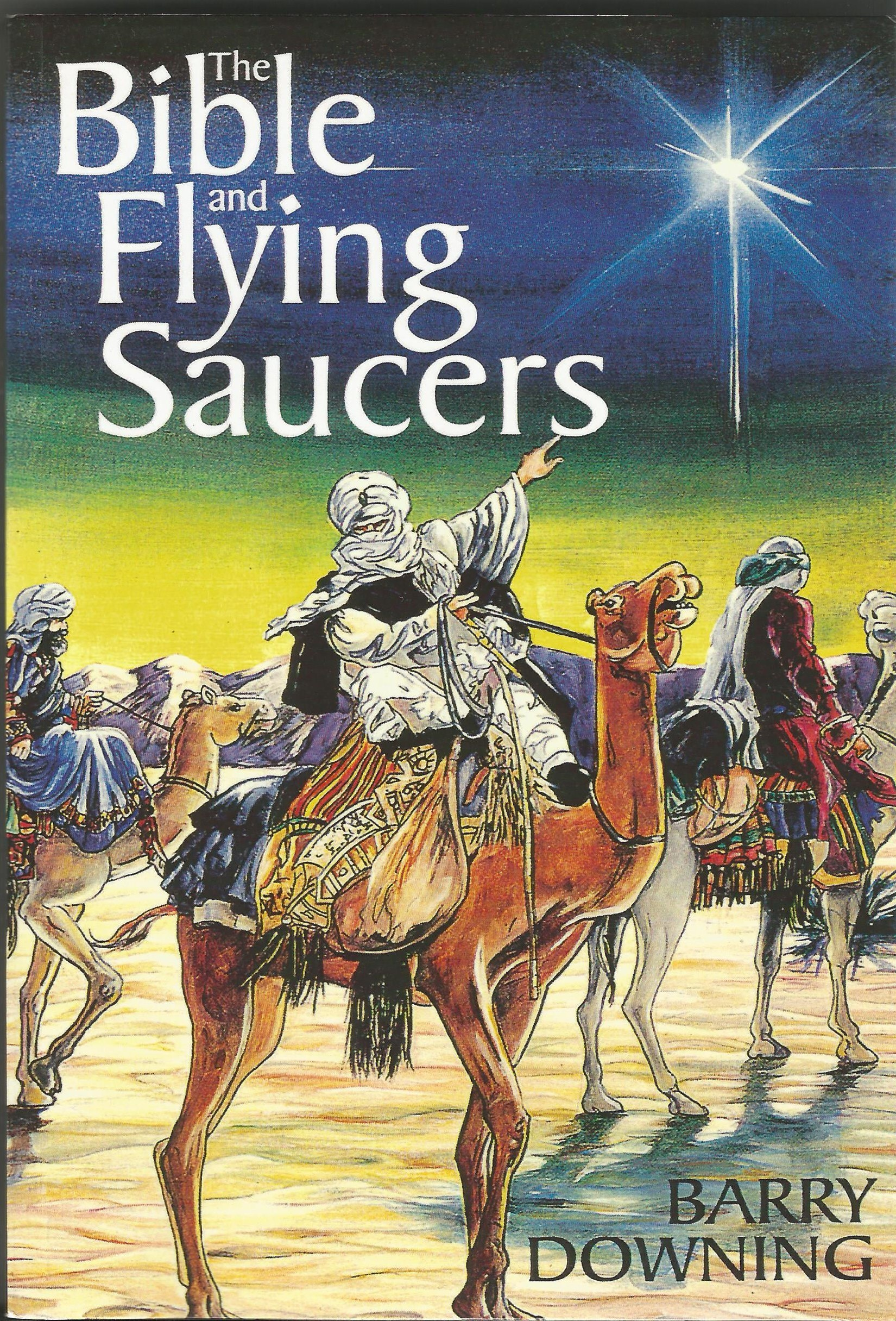 "Capa do livro ""The Bible and the Flying Saucers"" (Foto: arquivo pessoal)"