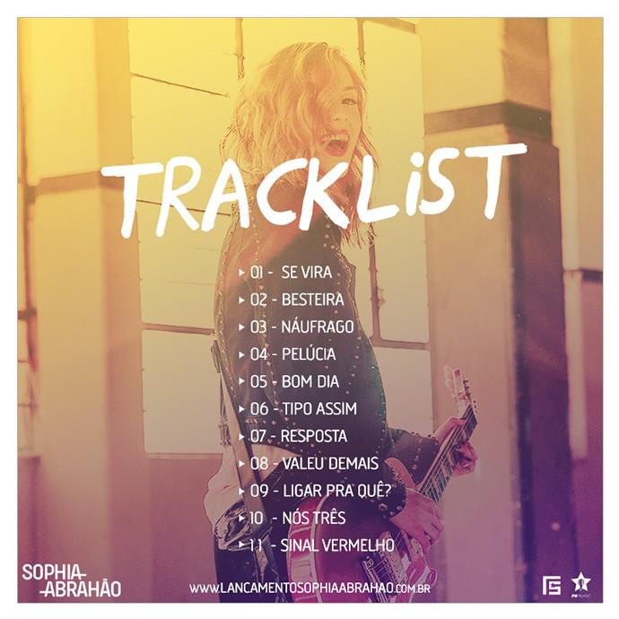 Confira as músicas que estão no álbum Sophia Abrahão (Foto: Divulgação)