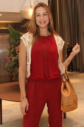 Luana Piovani em festa em hotel na Barra da Tijuca, Zona Oeste do Rio (Foto: Wallace Barbosa/ Ag. News)