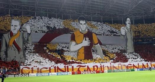 espetáculo (Reprodução Twitter Galatasaray)