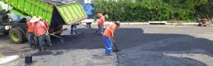 Prefeitura prossegue com operação tapa buracos nos bairros