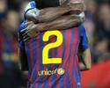 Abidal faz campanha para o Barça renovar contrato com Daniel Alves