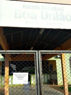 Escola foi assaltada três vezes em menos de uma semana (Foto: Arquivo Pessoal)