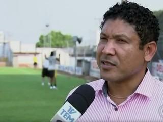 Genílson dos Santos, presidente do Grêmio Novorizontino (Foto: Reprodução / TV TEM)