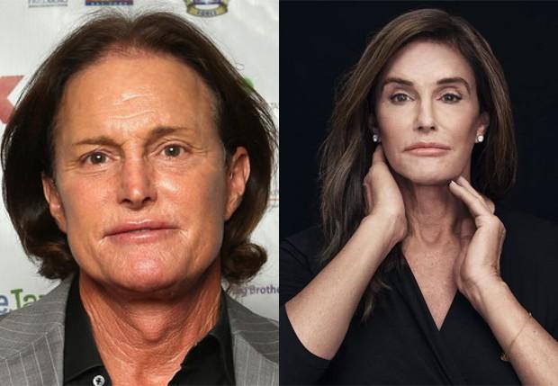 Bruce Jenner; Caitlyn Jenner (Foto: Reprodução e Getty Images)
