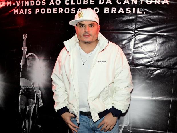 O humorista Carlinhos em boate em São Paulo (Foto: Caio Duran/ Ag. News)