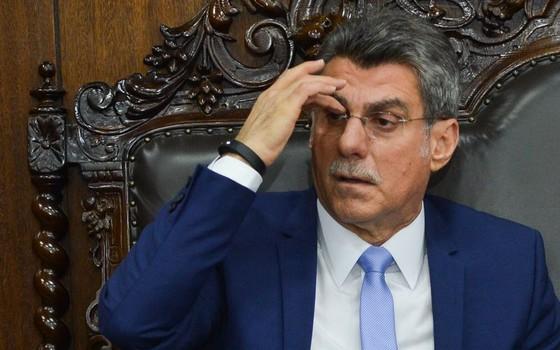 O ministro do Planejamento, Romero Jucá (Foto: Antonio Cruz/Agência Brasil)
