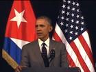 Obama demonstra solidariedade à Bélgica durante discurso em Cuba