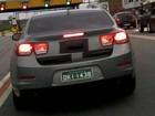 Internauta flagra novo Chevrolet Malibu em São Paulo