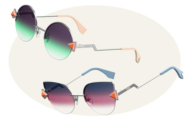 Modelos Fendi Rainbow (Foto: Arte Vogue Online)