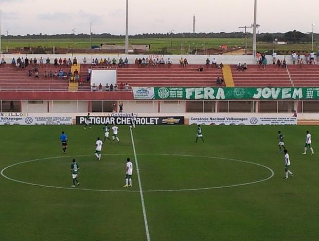 Partida aconteceu no Estádio Nazarenão, em Goianinha (Foto: Henrique Dovalle/InterTV Cabugi)