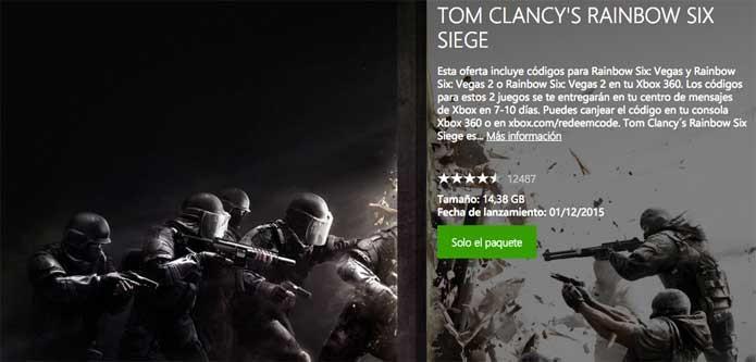 Rainbow Six Siege via Xbox One (Foto: Reprodução/Felipe Vinha)