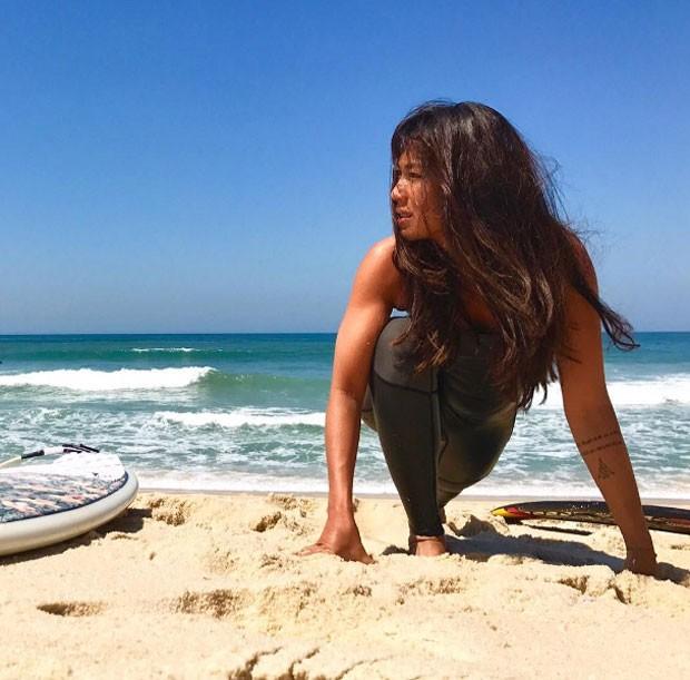 Dani Suzuki: surfista (Foto: Reprodução Instagram)