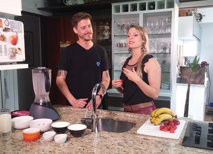 Nutricionista dá receita  (Foto: RBS TV/Divulgação)