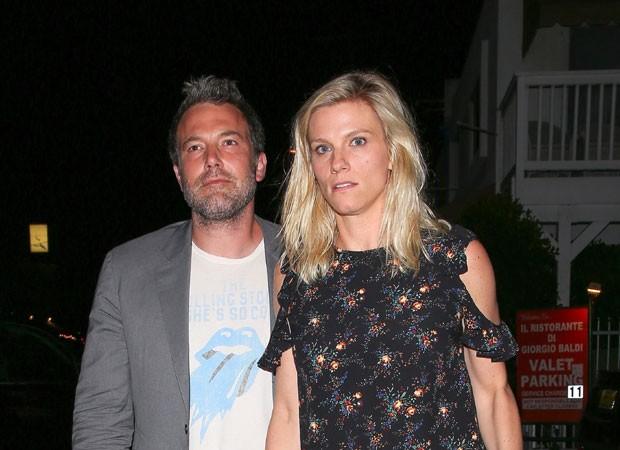 Lindsay Shookus e  Ben Affleck (Foto: The Grosby Group)